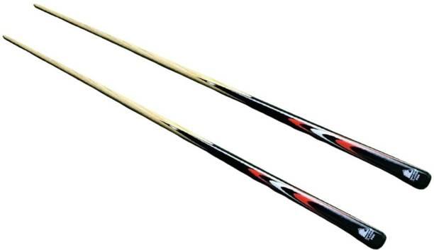 Laxmi Ganesh Billiard LGB301 Snooker and Pool Single Cue Stick - 48inch (Pack of 2) Snooker, Billiards, Pool Cue Stick