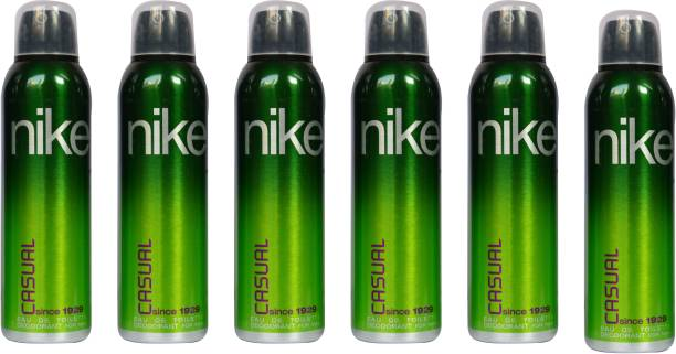 NIKE Casual (Pack of 6) Deodorant Spray  -  For Men