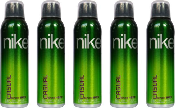 NIKE Casual (Pack of 5) Deodorant Spray  -  For Men