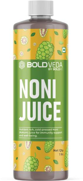 BOLDVEDA Noni Juice ( Kokum Juice) For Immunity Support & Energy Support For Men & Women Cold Pressed Noni Juice Full With Antioxidants For Detox Support
