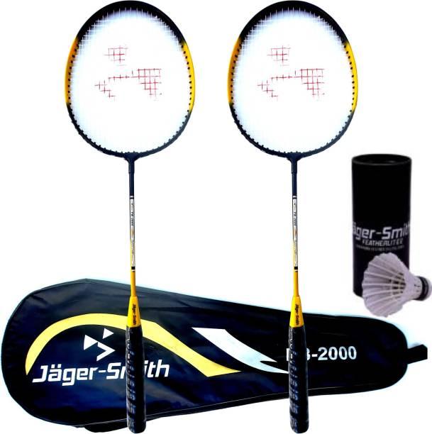 Jager-Smith PB-2000 Combo & Featherlite 2 Shuttle Badminton Kit