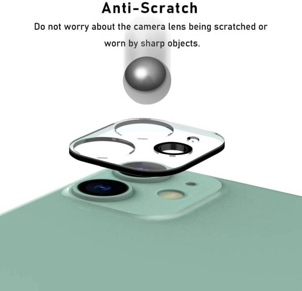 TOPQ Back Camera Lens Glass Protector for Apple iPhone 12 6.1