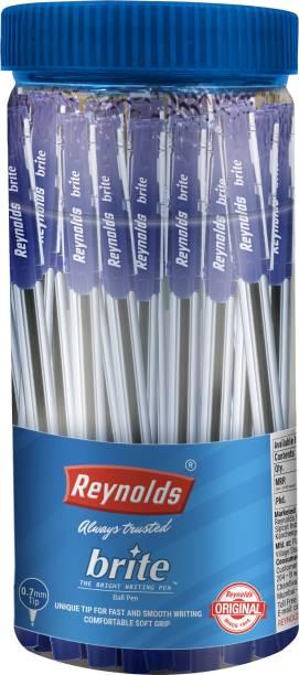 Reynolds Brite Blue Pen Jar Ball Pen