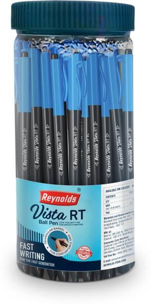 Reynolds Vista RT Blue Pen Jar Ball Pen