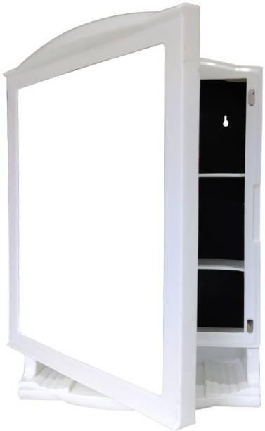 URBAN CHOICE washbasin & bathroom mirror medicine cabinet multipurpose organizer Semi-recessed Medicine Cabinet