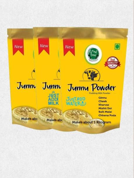 Good Food Junnu Milk Powder(Combo Pack) Regular, Just add milk, just add water (450gms) 450 g