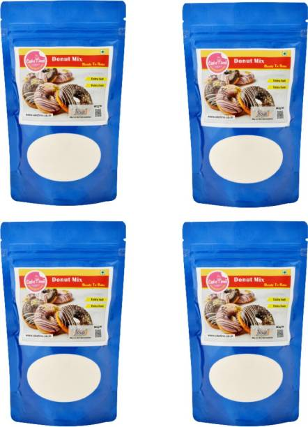 Cake Time Four Packs of Donut Mix 1000 g
