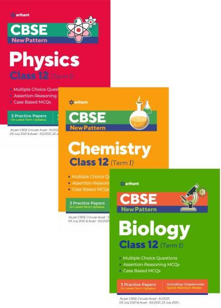 Arihant CBSE New Pattern MCQ Based PHYSICS, CHEMISTRY,BIOLOGY For (TERM-I) Class-12 (3-BOOK SET)