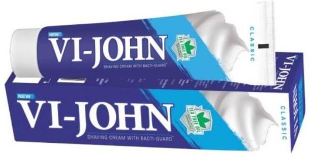 VI-JOHN Shaving Cream Classical 125GM PACK of 12