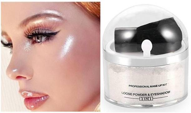 SEUNG 3D Face And Body Whitening Shimmer Loose Powder Highlighter