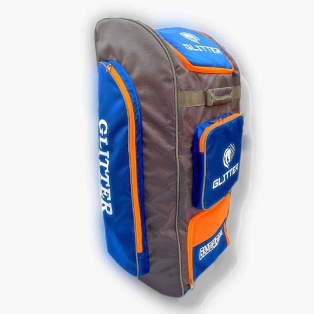 Glitter Cricket Kit Bag Blizzardpak Pittho Style with Wheel & Special Bat Holder