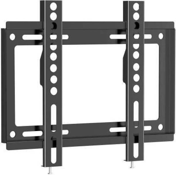 """XGMO Universal Fixed TV WAll Mount Stand Bracket Firm Grip Slim & Stylish for All Flat & Curved Televisions Suitable Size for Televisions 26-55"""" Load Capacity 50Kgs, Vesa 400X400mm Fixed TV Mount"""