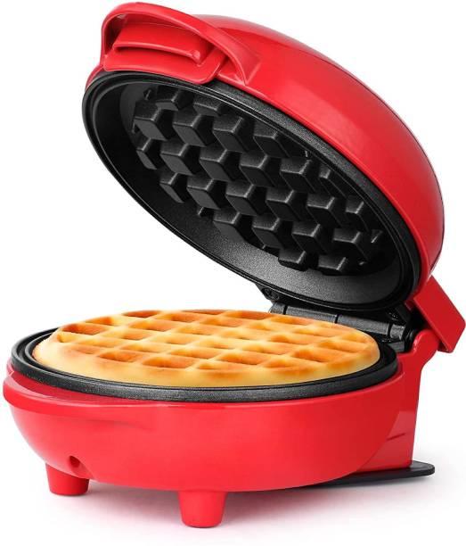 JD FRESH Mini Waffle maker machine for home, 4 inch, 350 watt | waffle and sandwich maker machine for home Waffle Maker