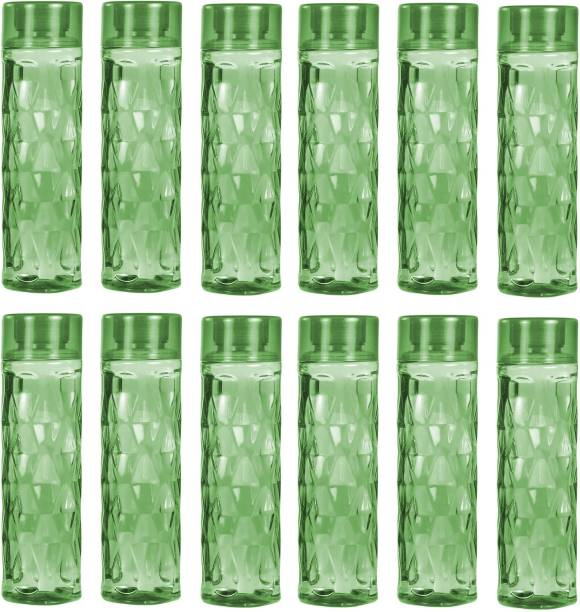 download PREMIUM DESIGN WATER BOTTLE FOR HOME,SCHOOL,OFFICE-1000 ML-12 PIC GREEN COLOR 1000 ml Bottle