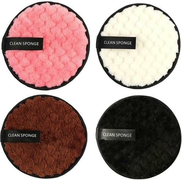 DC Reusable Multi-functional Makeup Removal Facial Cleansing Pads (Pack of 4)