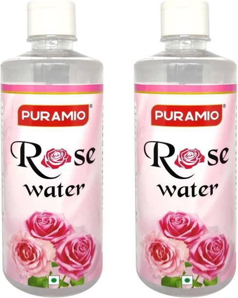 PURAMIO Rose Water Rose Liquid Food Essence