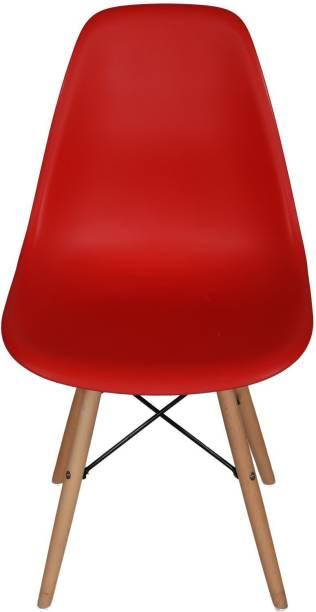 Lakdi Plastic Living Room Chair Solid Wood Living Room Chair