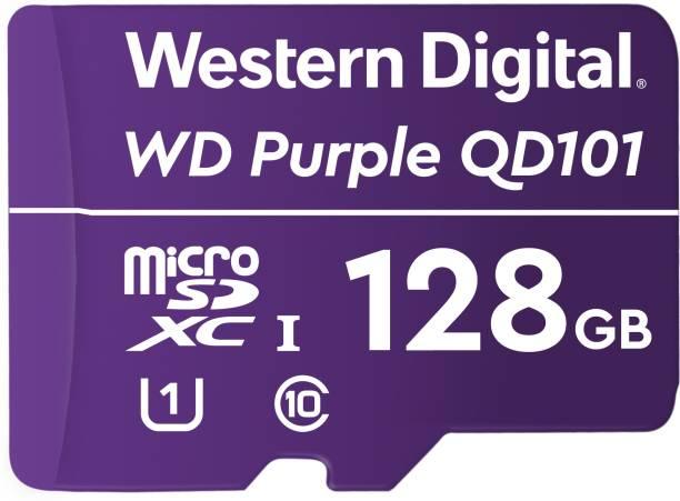 Western Digital QD101 128 GB MicroSD Card Class 10 100 Mbps  Memory Card
