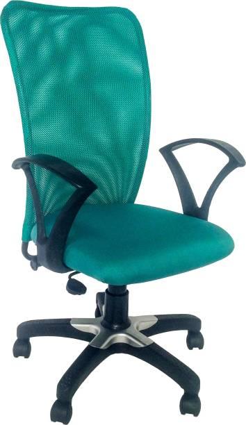 PEEPLUS PP 6013 Fabric Office Arm Chair