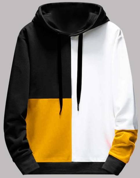 FastColors Full Sleeve Color Block Boys Sweatshirt