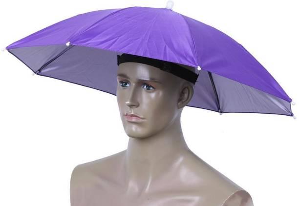 Rainpopson Hat Umbrella for Kids, Men, Women Cap Hat Umbrella Umbrella