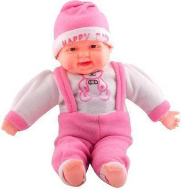 Aneep Modren & Fabulous Baby Musical/Laughing Boy/Laughing Doll | Toy & Birthday Gift | Unique Doll for Baby Boy & Baby Girl, Children, Kids Small (14X6)