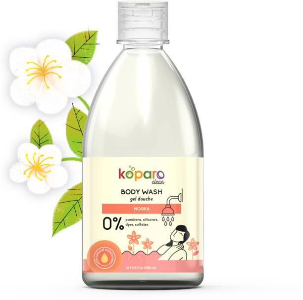 Koparo Body Wash - Natural & Non Toxic - No Silicones, No Parabens - pH Balanced