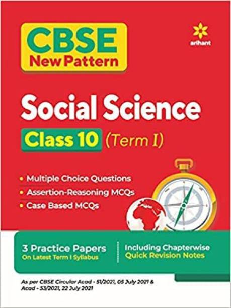 Cbse New Pattern Social Science Class 10 for 2021-22 Exam (MCQS Based Book for Term 1)