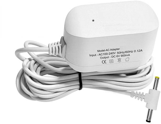 GENIX 6V AC/DC Power Adapter for BPM04BL , BPM02 , BPM02T , BPM 03 , BPM01, BPM01W , BPM04BL , BPM04KBL , BPM02T, BPL 120/80 B3 , BPL 120/80 B5 , BPL 120/80 B8 , BP 09 Blood Pressure Monitor - White Bp Monitor Adapter Bp Monitor Adapter