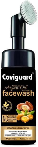 Coviguard COVIGURAD ARGEN OIL FOAMING FACEWASH 150ML Face Wash