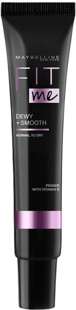 MAYBELLINE NEW YORK Fit Me Face Primer Dewy + Smooth, 30 ml Primer  - 30 ml