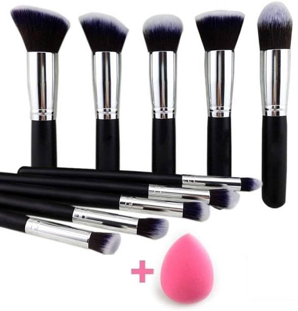 Mahalaxmi Complete Makeup Brushes Set Kit - Set of 7