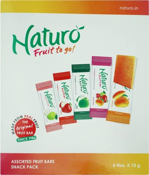 Naturo Assorted Fruit Candy Bar
