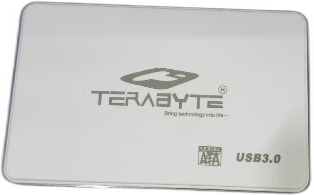 """TERABYTE USB 3.0 2in1 Laptop Casing 2.5"""" Screwless HDD/SSD 2in1 USB 3.0 External Hard Drive Enclosure Case for Laptop Hard Disks to Enclosure Case Cover SATA (Color May Vary) 2.5 inch USB 3.0 LAPTOP CASING"""