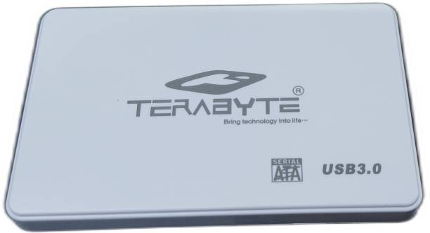"""TERABYTE 2in1 USB 3.0 2in1 Laptop Casing 2.5"""" Screwless HDD/SSD USB 3.0 External Hard Drive Enclosure Case for Laptop Hard Disks to Enclosure Case Cover SATA (Color May Vary) 2.5 inch USB 3.0 LAPTOP CASING"""