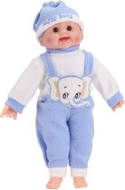 shubhcollection Happy Baby Laughing Musical and Doll, Touch Sensors