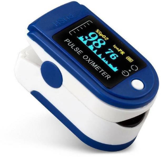 Kroptee OLED Digital Finger Pulse Oximeter Spo2H Blood Oxygen Monitor Arterial Saturation Monitor With Pulse Rate Monitor Heart Rate Monitor Pulse Oximeter