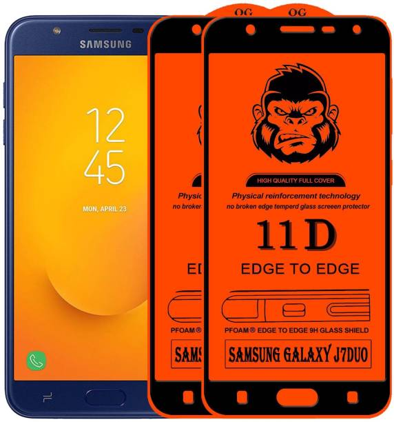 Rofix star Edge To Edge Tempered Glass for SAMSUNG GALAXY J7 DUO