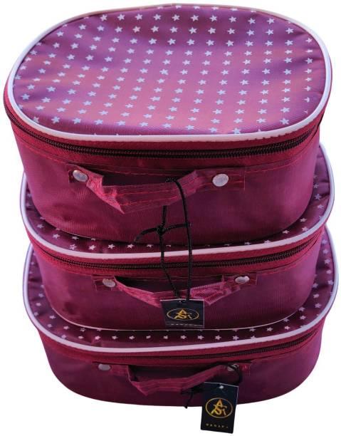 Rasafa Bindi case Makeup kit, Jewellery box, Storage case, Shaving Kit, Toiletry Kit Vanity Box