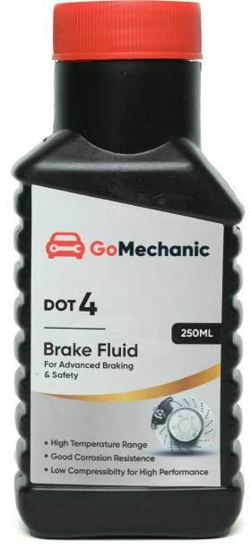 GoMechanic DOT 4 Brake Oil High Quality Longer Protection Better Lubrication for Passenger & Commercial Cars Brake Oil