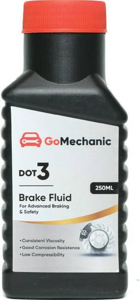 GoMechanic DOT 3 Brake Oil High Quality Longer Protection Better Lubrication for Passenger & Commercial Cars Brake Oil