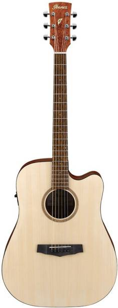 IBANEZ PF10CE-OPN Semi-acoustic Guitar Spruce Merbau Right Hand Orientation