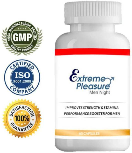 THE NIGHT CARE Extreme Pleasure Ayurvedic Capsules For Energy, Strength, Stamina (For Night)