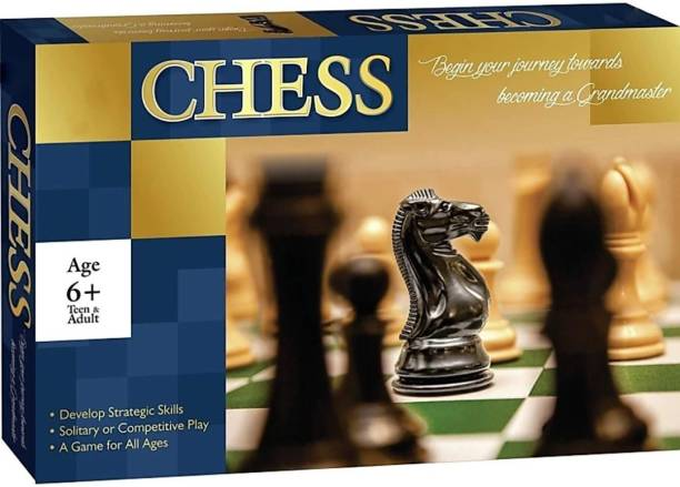 sports & fitness junction Folded Book Size Chess Size 28*28 Cm Strategy & War Game Board Game 0 cm Chess Board