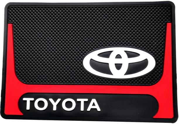 AutoRight Rubber 3D Mat For  Toyota Universal For Car, Innova, Fortuner, Camry, Glanza, Corolla, Corolla Altis, Etios, Etios Liva, Linea, Vitara