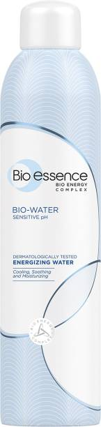 Bio-Essence Bio-Water Energizing Water Face Mist | With Minerals & Bio-Energy Complex, Power Hydration Without Smudging Makeup, Instant Soothing, Sensitive pH, Dermatologically Tested Women