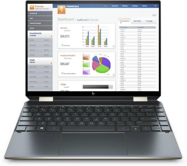 HP HP Spectre Core i5 11th Gen - (16 GB/512 GB SSD/Windows 10 Home) 14-ea0538TU Thin and Light Laptop
