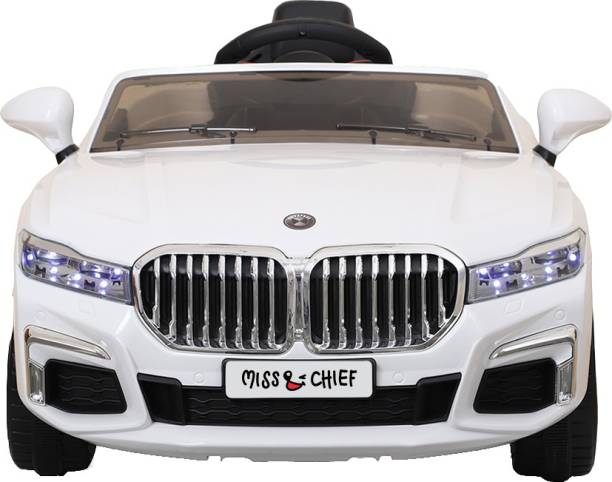 Miss & Chief Beemer 12 V Battery operated rechargeable premium car rideon Car Battery Operated Ride On