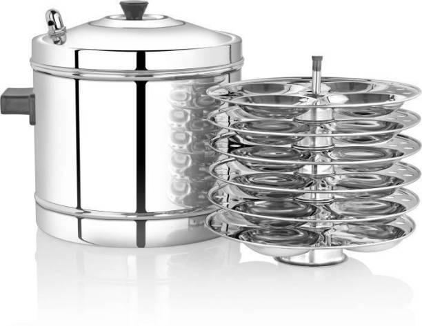 Felcon 6 Plates Idly Maker / Cooker Standar d Idli Maker (6 Plates , 24 Idlis ) Induction & Standard Idli Maker
