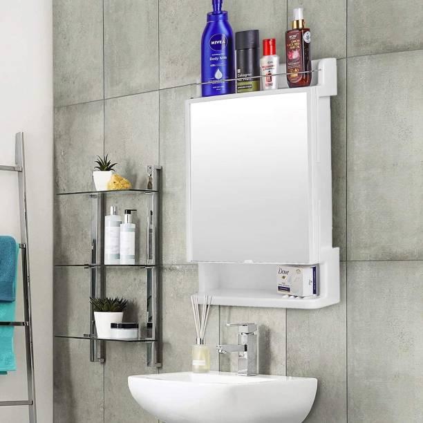 URBAN CHOICE bathroom washbasin mirror & medicine cabinet multipurpose storage organizer Semi-recessed Medicine Cabinet